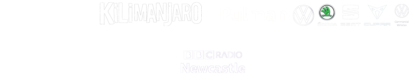 Partner Logos: Metro Radio, Pulman VW, SSD Concerts, Ticketline, GNE, Newcastle United Local Partner